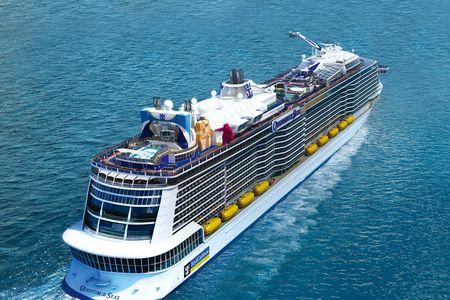 <皇家加勒比国际游轮-海洋赞礼号>5晚6日 7/16登船