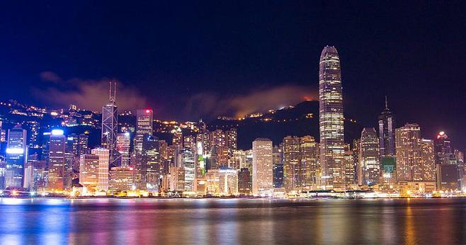 東方之珠香港登船