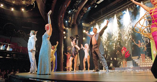 卡鲁索大剧院演精彩纷呈的娱乐表演