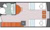 标准海景房户型图