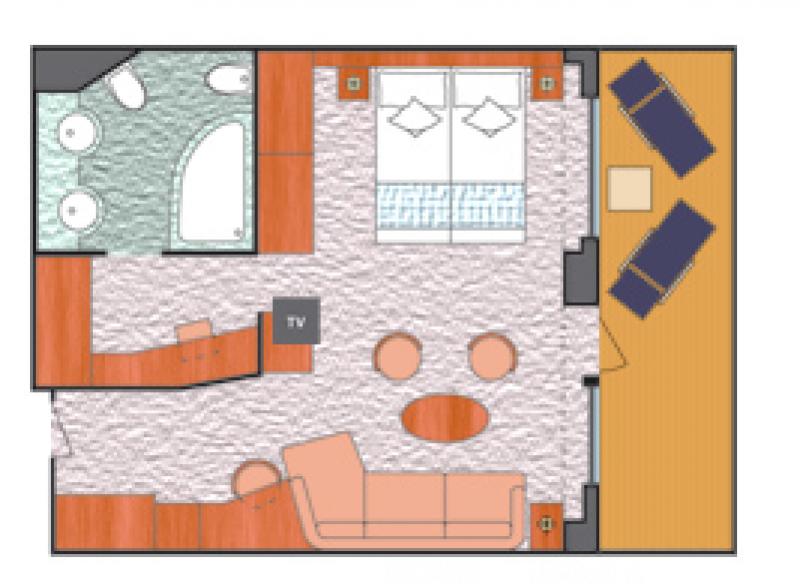 2o米x6米带电梯套房户型设计图展示