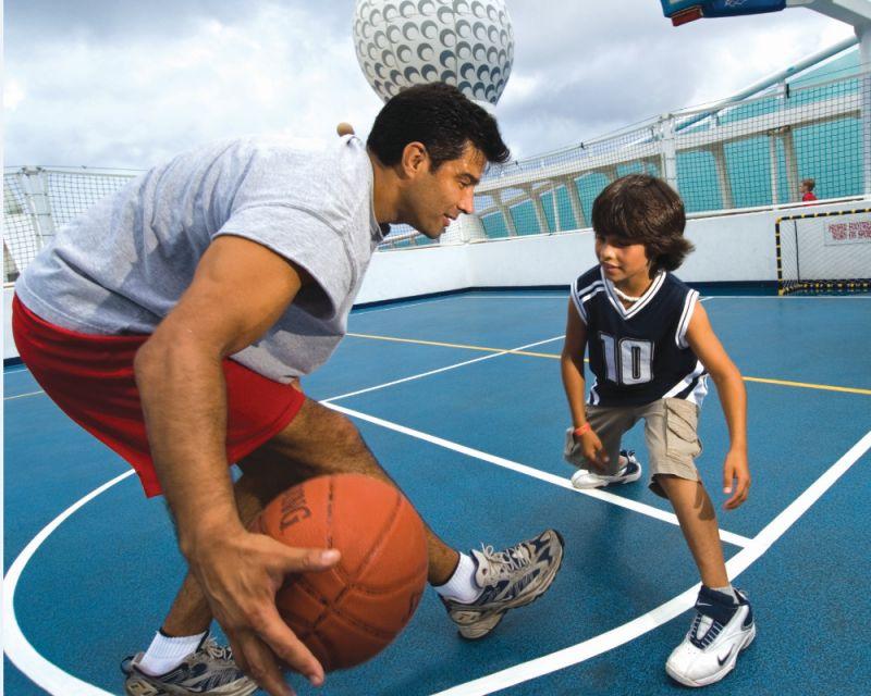 篮球场详细图片_介绍_海洋航行者号