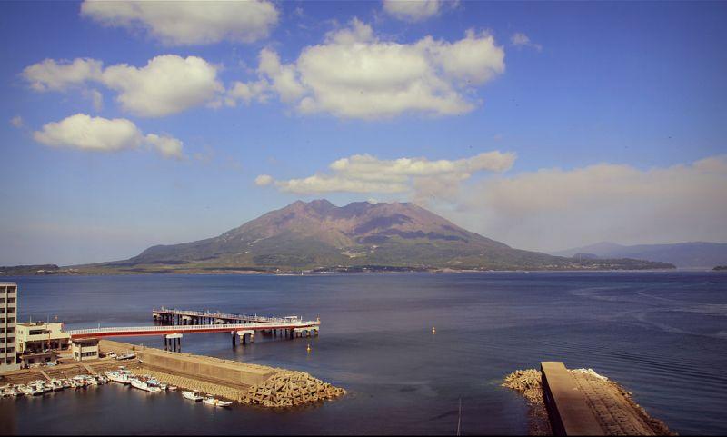 火山风景墙纸高清大图