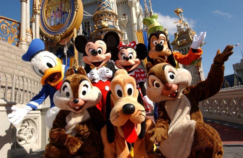 迪士尼世界总面积达124平方公里