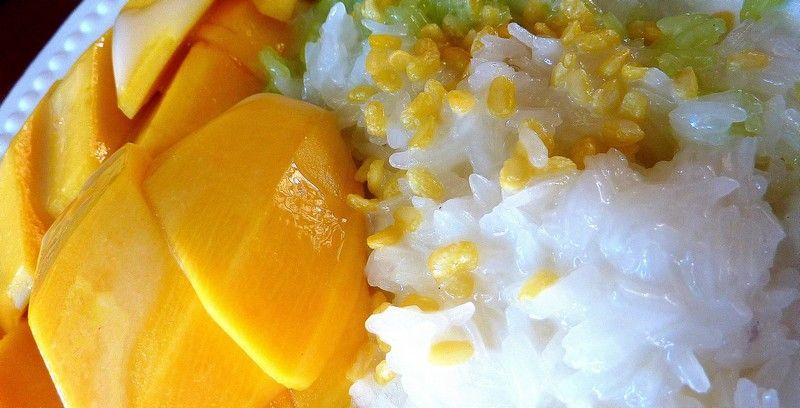 芒果糯米饭_普吉岛美食