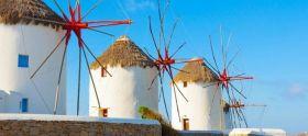 米克诺斯岛 风车岛