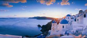 圣托里尼 世界最美落日