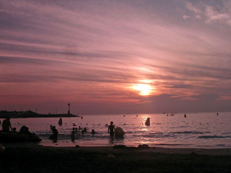 梨湖海水浴场_济州岛景点