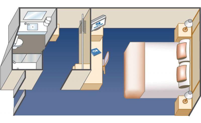 內艙房戶型圖