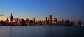 芝加哥 摩天之城 风城