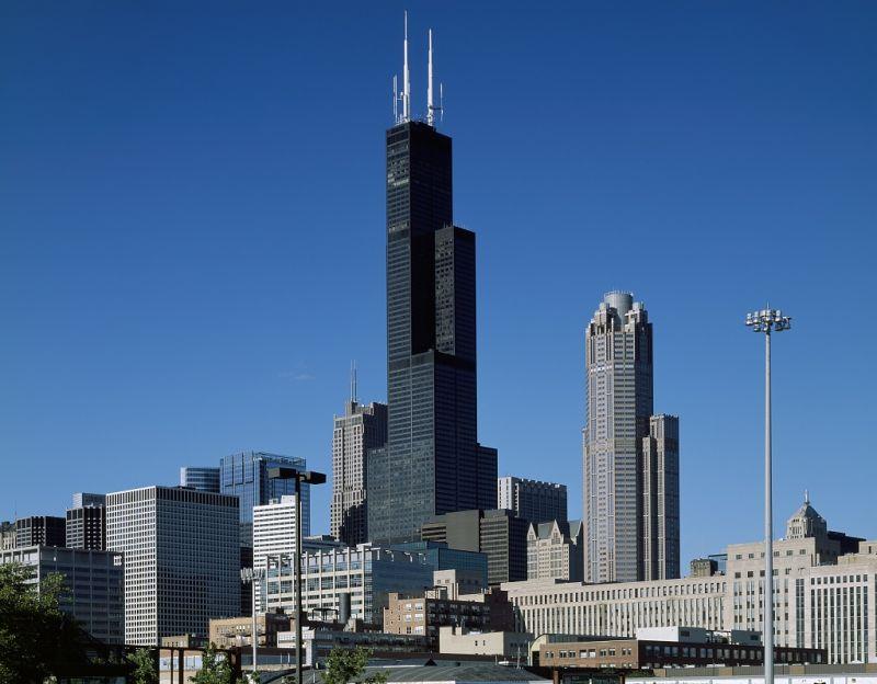 威利斯大厦_芝加哥景点