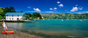 阿卡罗阿 新西兰的法国风情小镇