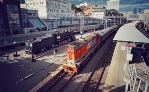 符拉迪沃斯托克(海参崴)火车站