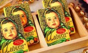 俄罗斯巧克力