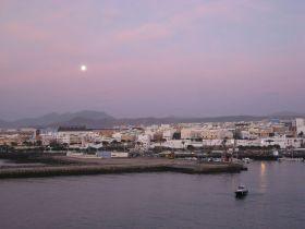 罗萨里奥 富埃特文图拉岛的东部小镇