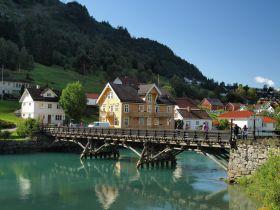 海勒叙尔特 被山谷包围的挪威小镇