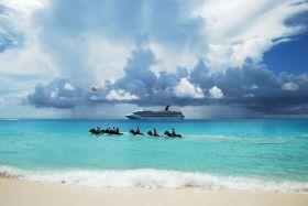 半月湾 巴哈马群岛的私人岛屿