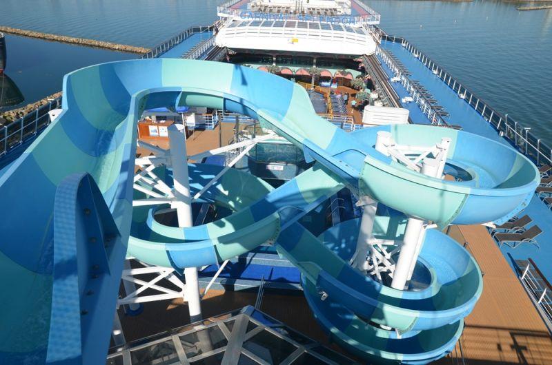 Carnival Twister Waterslide
