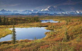 麦金利 北美洲第一山峰